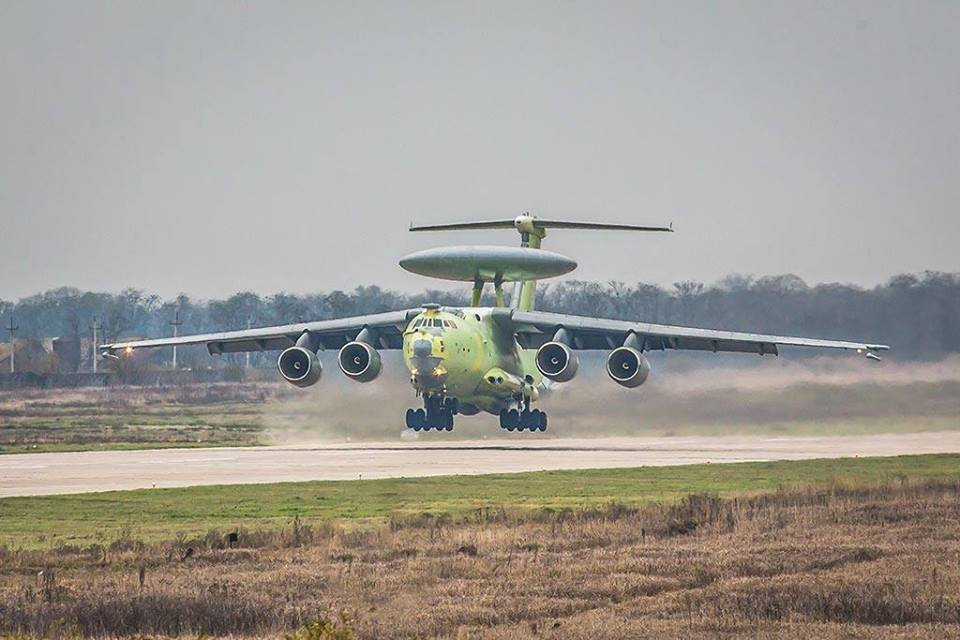Here's Russia's A-100 Premier, the AWACS aircraft able to detect U.S. F-22 and F-35 stealth fighters