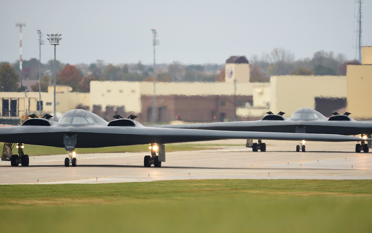 Cool photos show B-2 Spirit strategic bombers taking part in USSTRATCOM Ex. Global Thunder 18