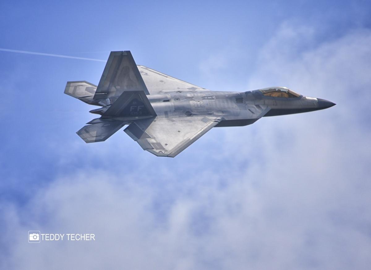 USAF celebrates first flight of F-22 Raptor fifth-generation fighter
