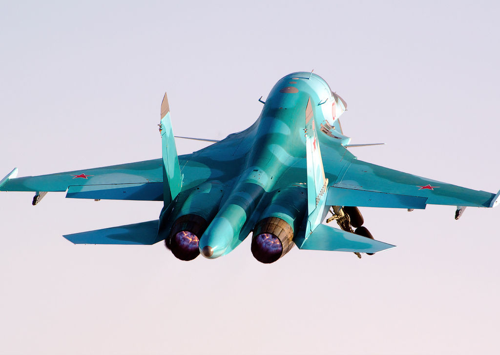 Russia to develop new single seat fighter bomber based on Su-34