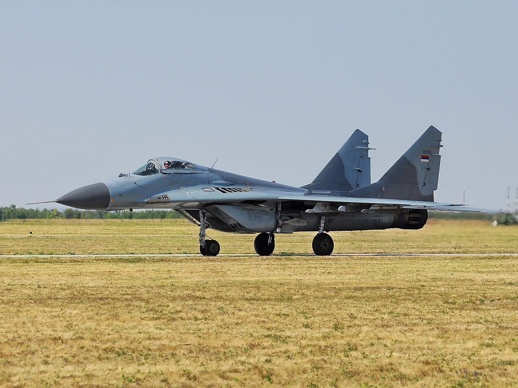 That Time Russia said a Serbian MiG-29 Shot Down an F-117 Stealth Fighter