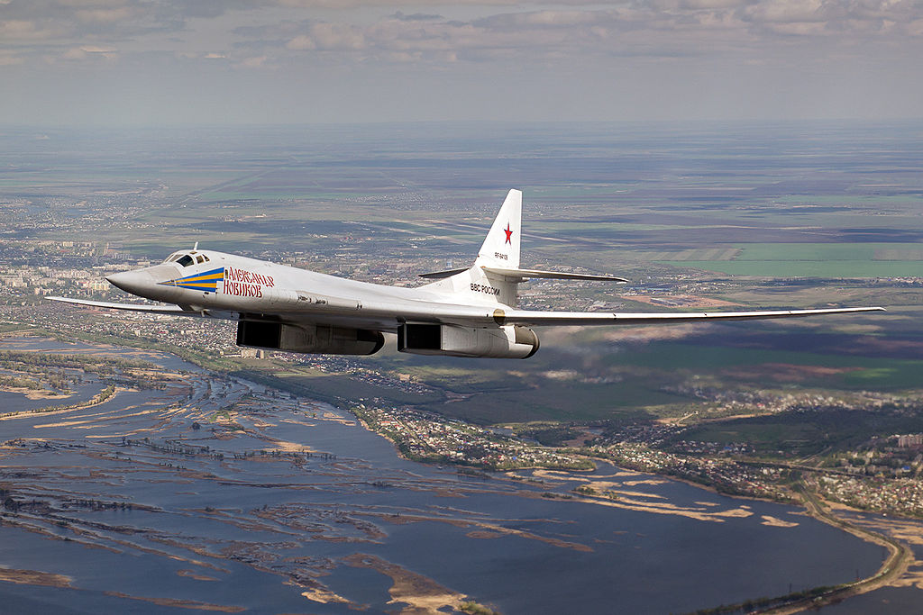 Putin suggests civilian supersonic transport based on Tu-160 bomber