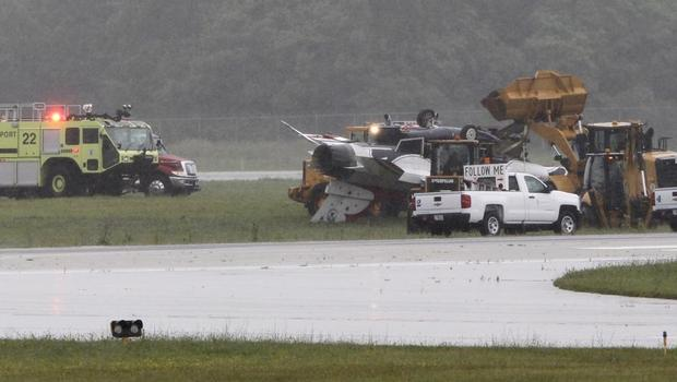 Excess airspeed and insufficient stopping distance caused Thunderbird F-16D crash last June
