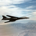 Check out this video of a B-1B Lancer performing low-altitude terrain following at Edwards AFB
