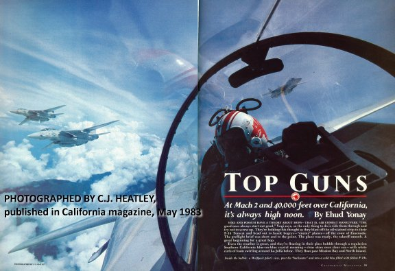 Exclusive: former Topgun instructor presents the original article that inspired legendary Top Gun movie
