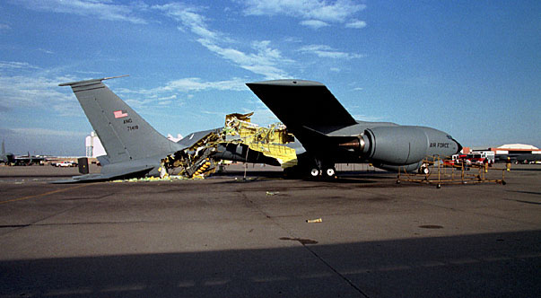 That time a KC-135 Stratotanker aircraft exploded after a failed pressure test
