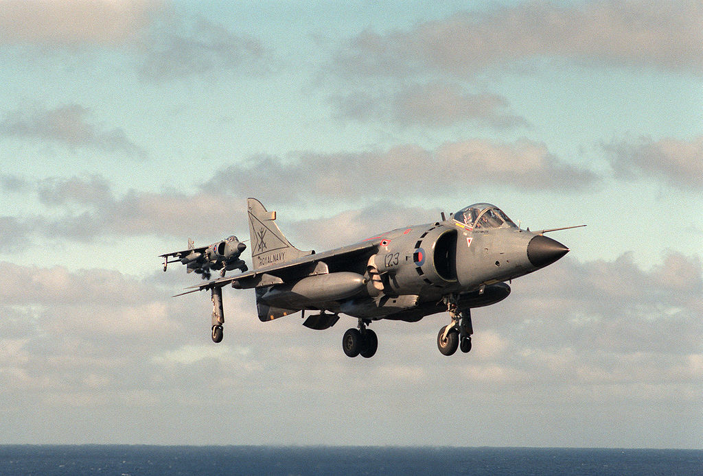 Two former Royal Navy (Sea) Harrier Jump Jets could Fly Again Soon