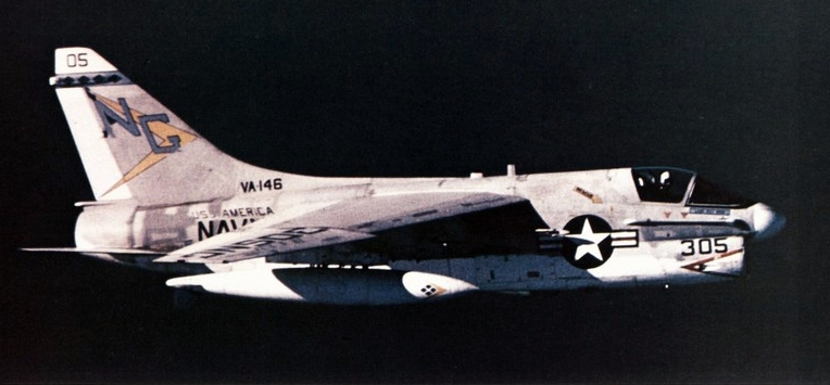 The story of Captain Messerschmitt, the pilot who loved shooting the A-7 Corsair II's gun