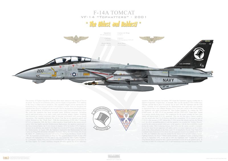 VF-14 F-14 Tomcat print