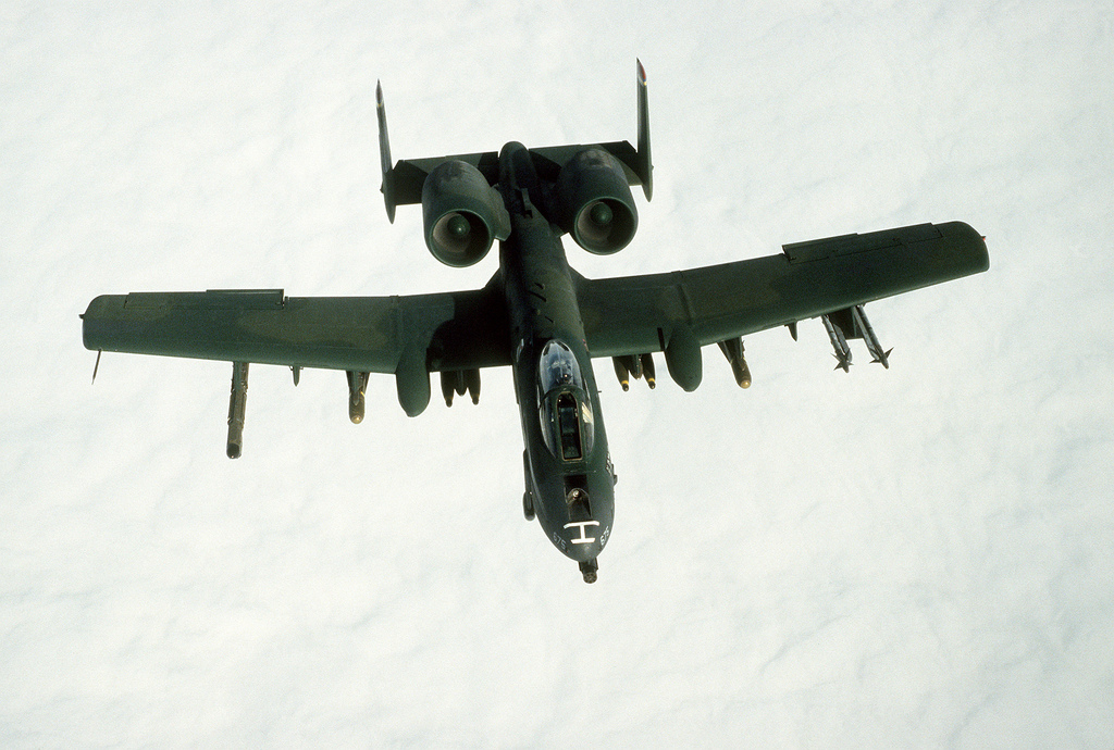 BRRRRRRTTTTTT!!!! How USAF A-10 tank busters shot down two Iraqi helicopters during Operation Desert Storm