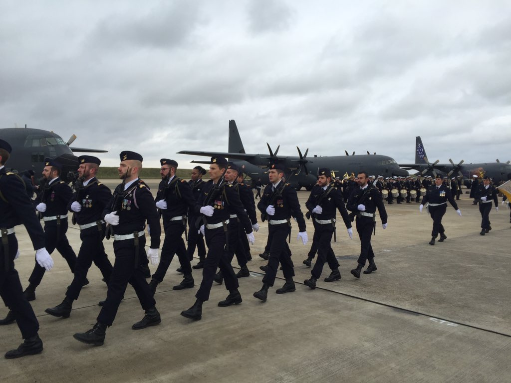 Armée De l'Air welcomes first C-130J Super Hercules