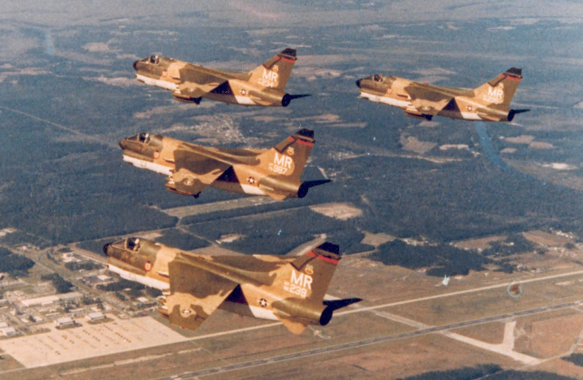 "The A-7D SLUF and the story of an incredible nine-hour-long ""Sandy"" mission flown over North Vietnam"