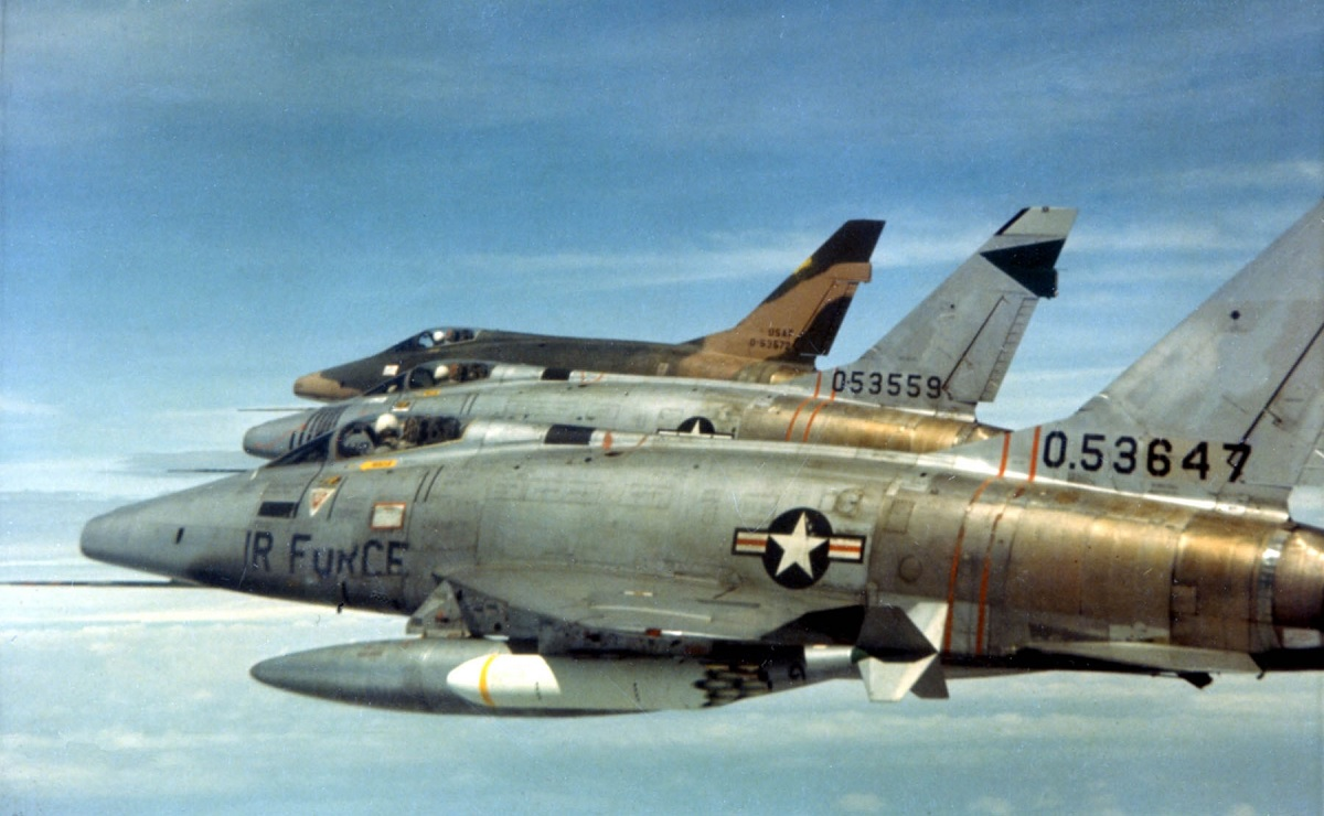 This pilot scored F-100's only (probable) MiG Kill of the Vietnam War