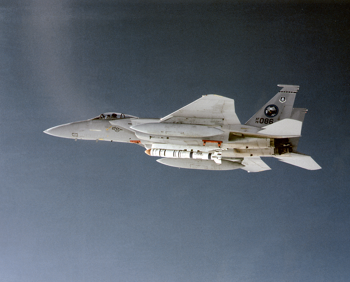 The F-15 satellite killer and the ASM-135A ASAT missile