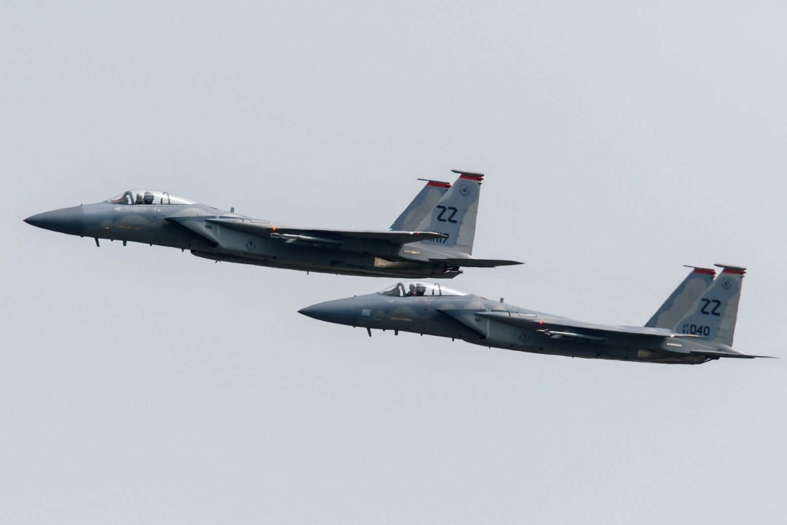 How Kadena's F-15Cs protected the air assets that were trying to find KAL 007 wreckage