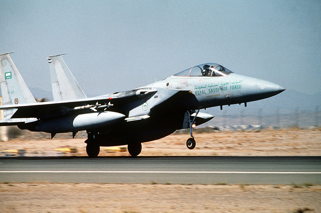 The strange case of the first kills scored by RSAF (or USAF?) F-15 pilots