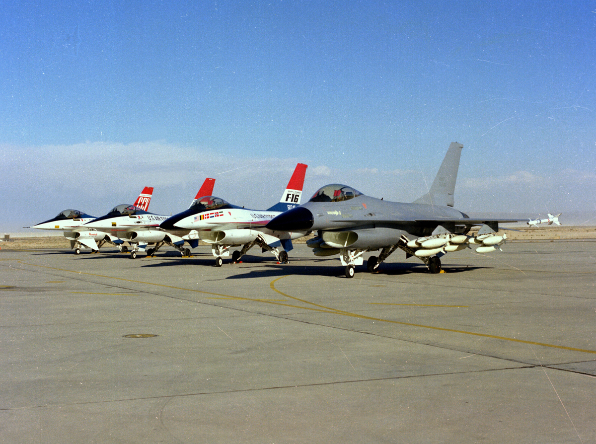 A quick look at the F-16 CCV, the Viper that could turn without banking
