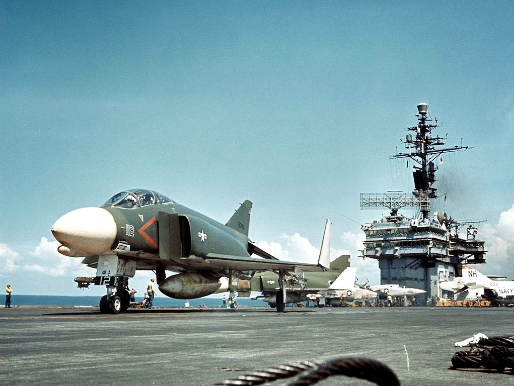 Remembering the U.S. Navy F-4G, the Phantom that could perform automatic carrier landings