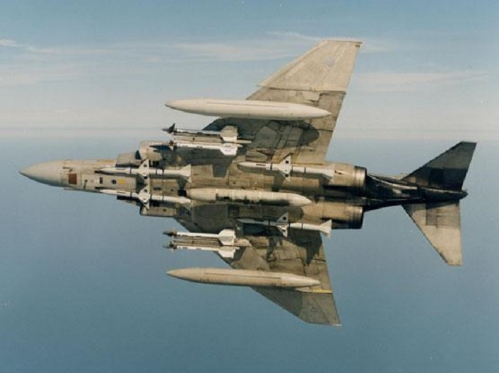 That time a RAF Phantom shot down a RAF Jaguar: the unknown story of the British Phantom's only air-to-air kill