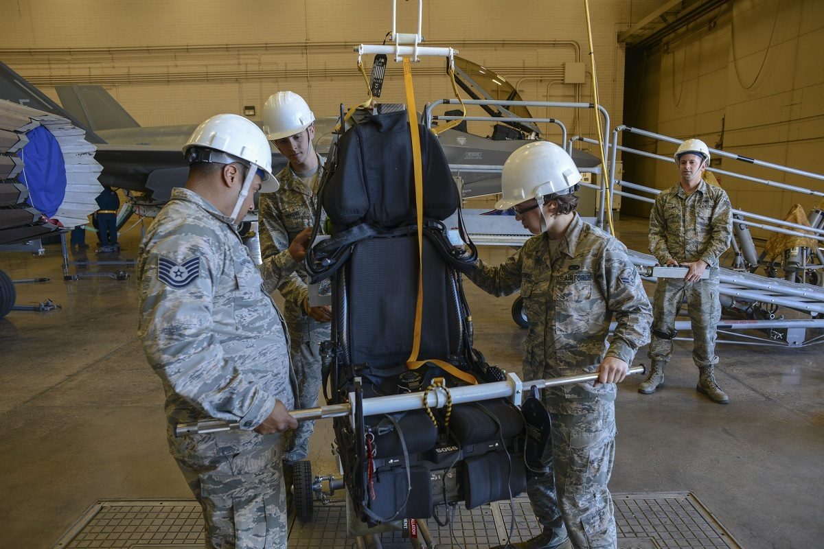 Luke's F-35s receive upgraded ejection seat that removes weight limit restriction