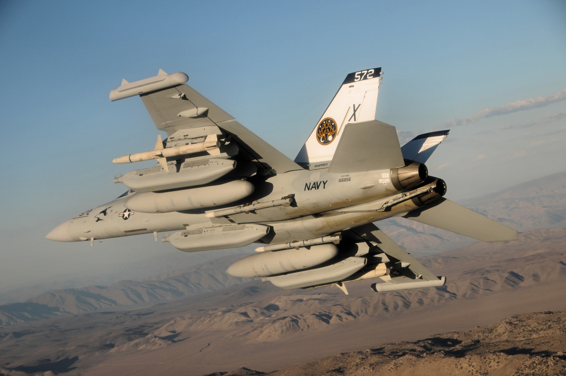 VX-9 EA-18G crew RTBs blined and frozen after Growler's ECS failed in flight