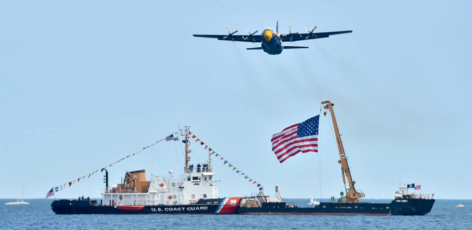Blue Angels demonstration team to replace Fat Albert with RAF C-130J
