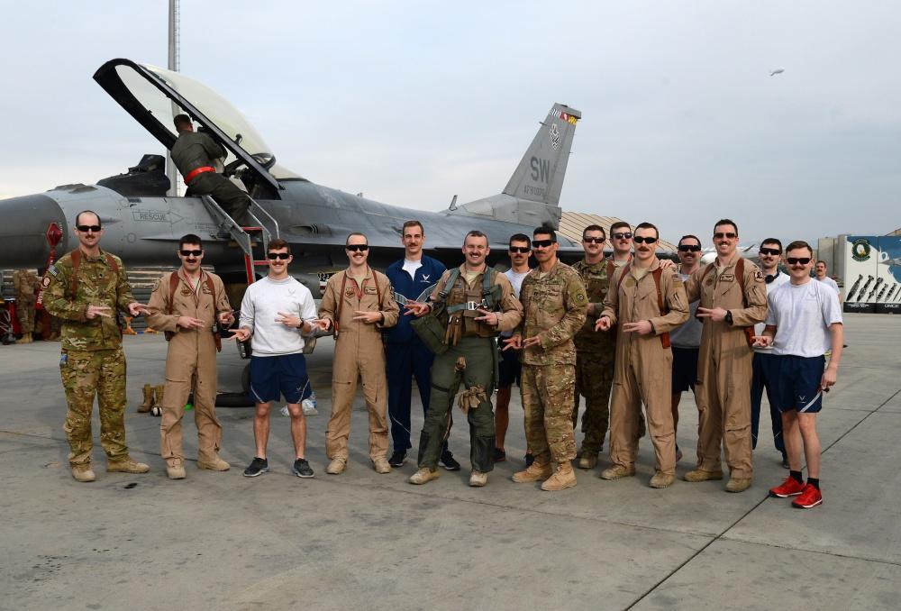 F-16 driver hits 1,000 combat hours milestone
