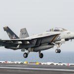VFA-213 Blacklions F/A-18F crashes off the coast of Key West