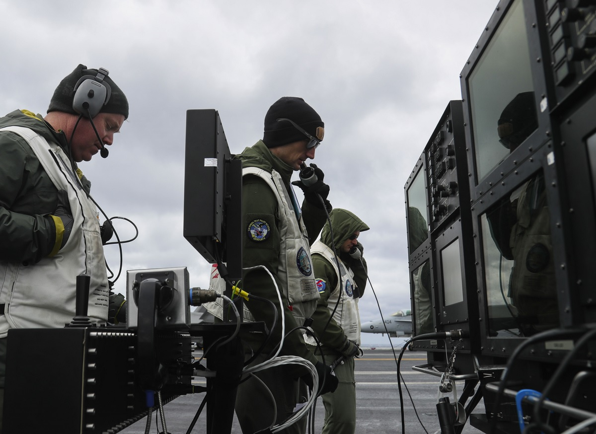 LSO remotely takes over F/A-18 thanks to ATARI - no, not the iconic gaming system from the 80s
