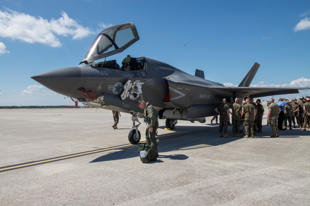F-35B almost ready for first combat deployment