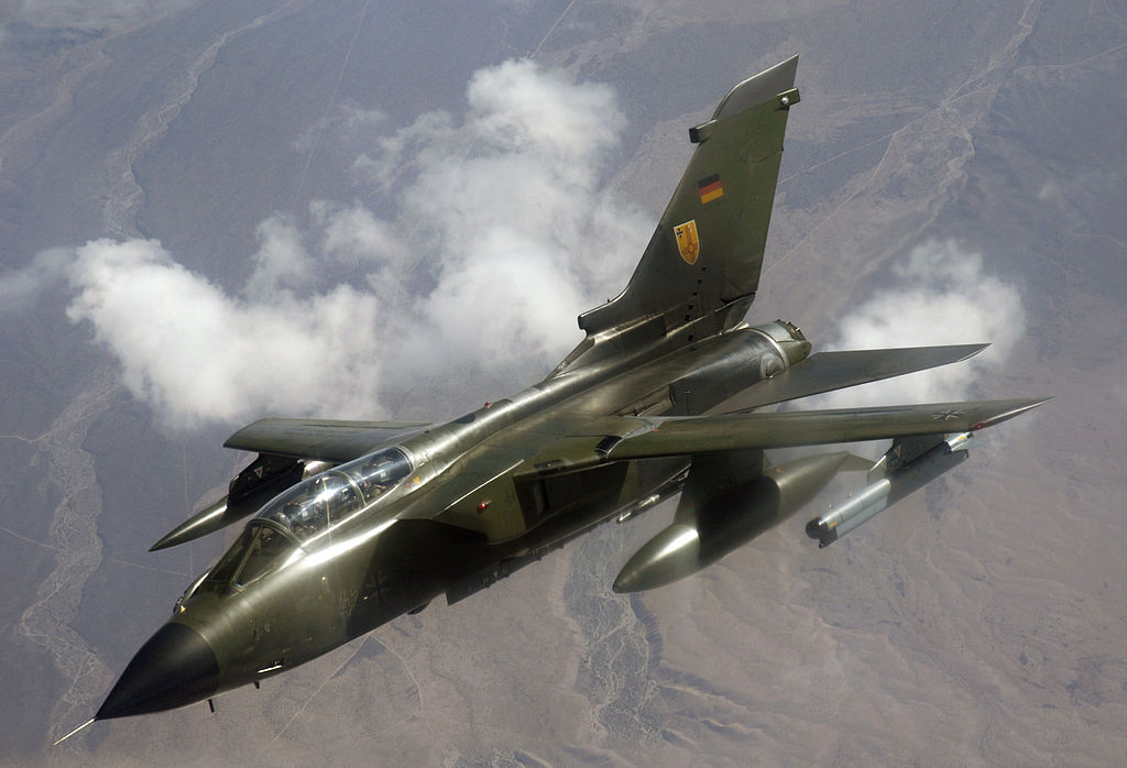 Luftwaffe Tornado fighter bombers lack updated encryption