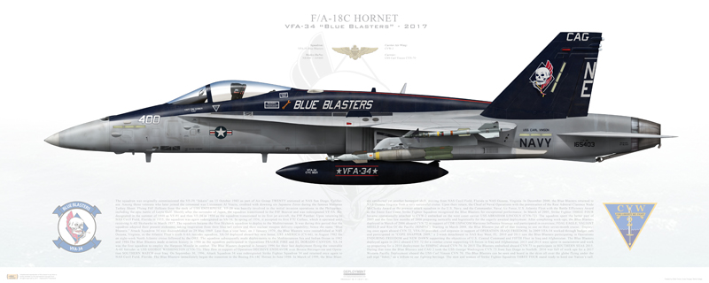 U.S. Navy Bids Farewell to the F/A-18C Legacy Hornet
