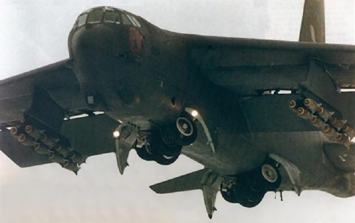Former B-52D pilot tells the story of a scary bomb run during the Vietnam War