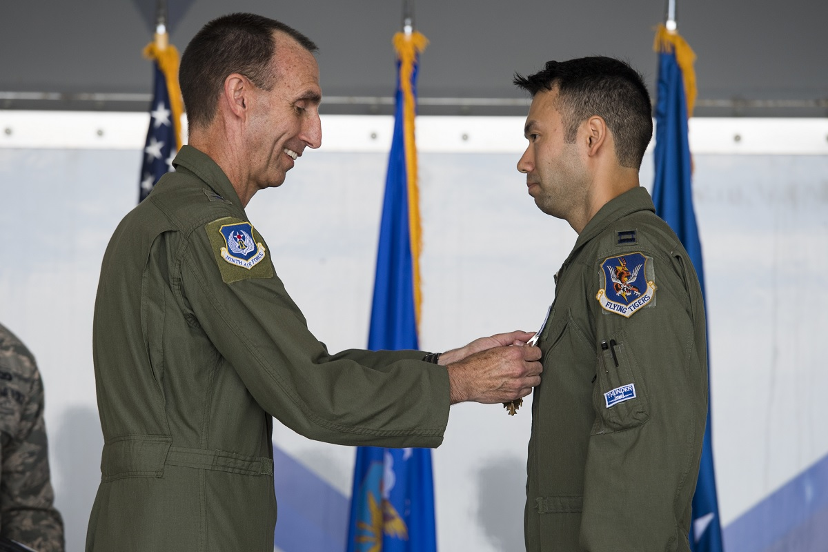 74th FS pilots have been awarded Distinguished Flying Cross for their actions in support of OIR