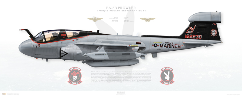 USMC last EA-6B Prowlers Return from Final Combat Deployment
