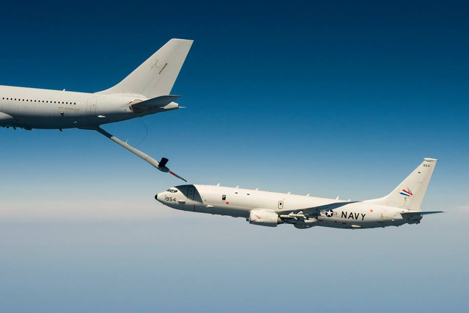 Cool photos show RAAF KC-30A tanker refuelling U.S. Navy P-8A Poseidon