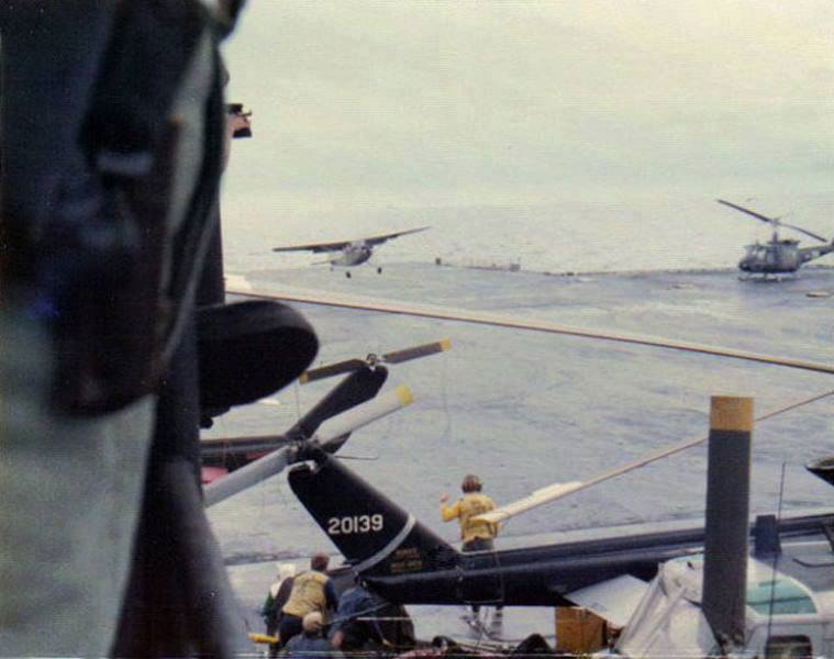 That time a South Vietnamese O-1 Bird Dog landed aboard USS Midway