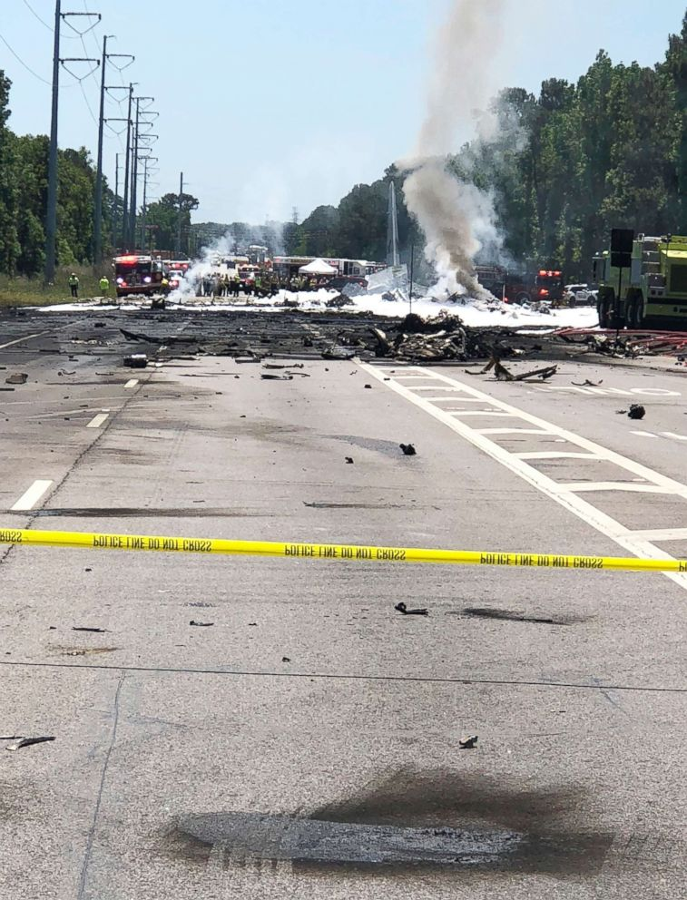Air National Guard WC-130 crashes in Georgia killing five crew members