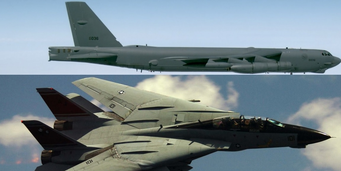 B-52 Vs F-14: former BUFF driver tells the story of an unusual