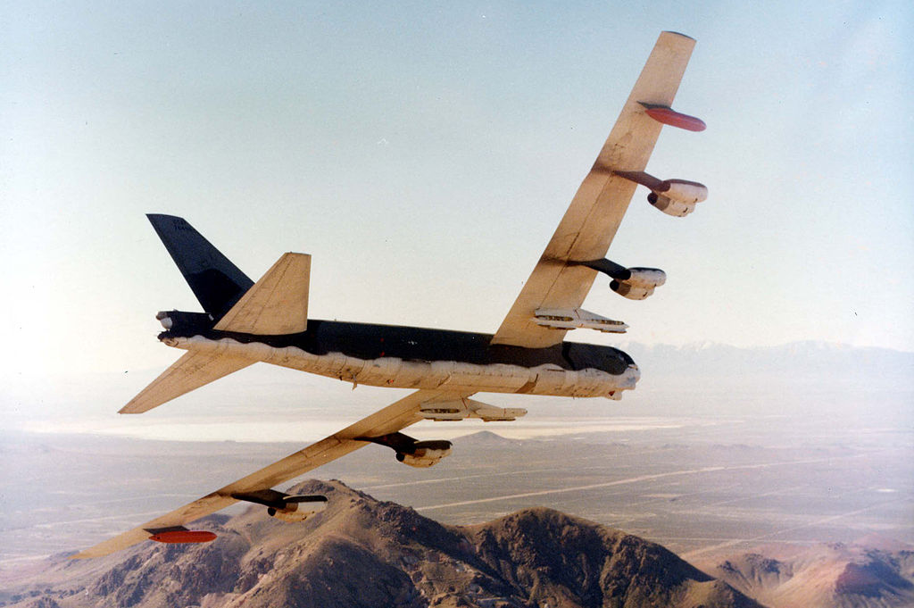 The Death Spiral of Swoon 52: the story of the B-52 bomber that crashed into Hunt's Mesa during a low level training sortie