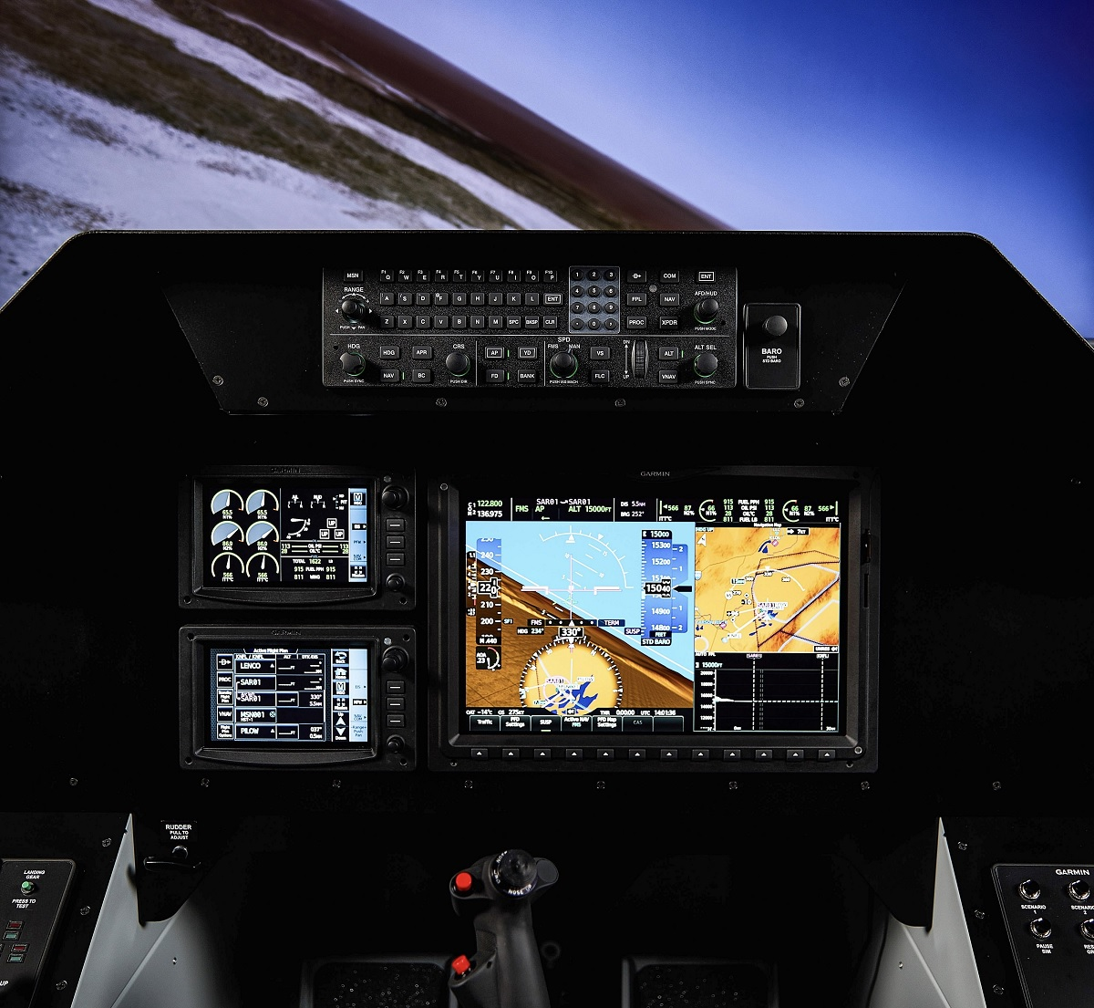 TacAir F-5 aggressors are getting the Garmin G3000 flight deck