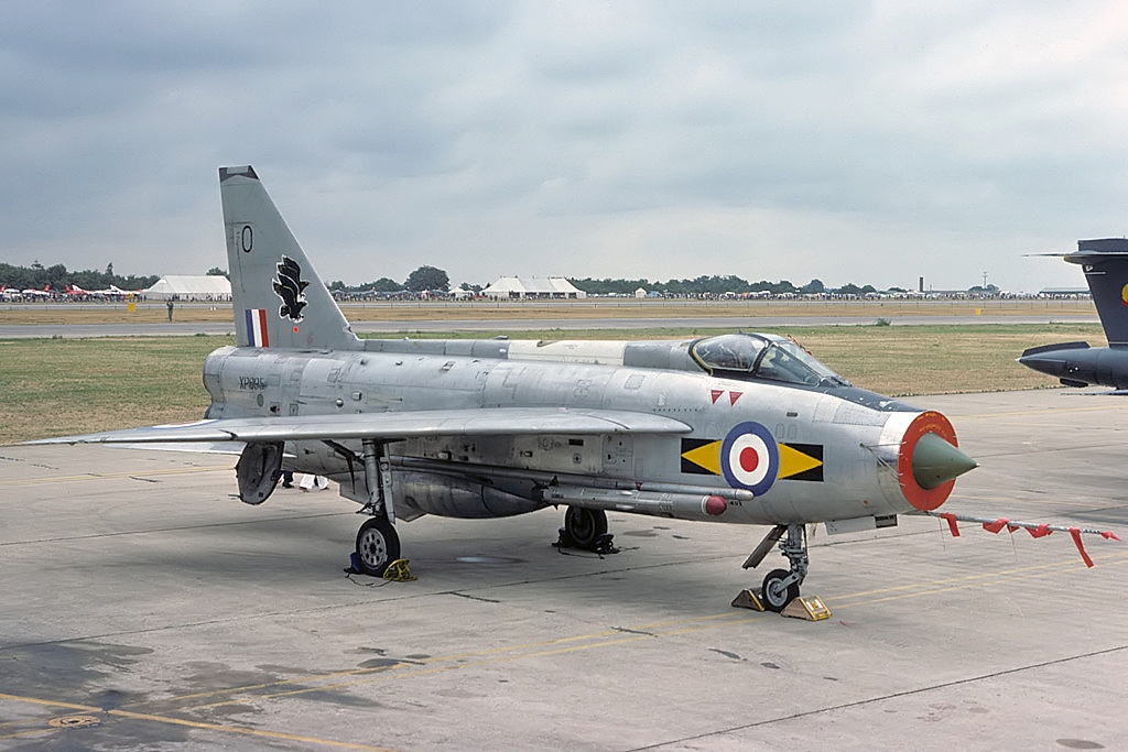That time a lone RAF Lightning intercepted a horde of 80 Soviet strategic bombers