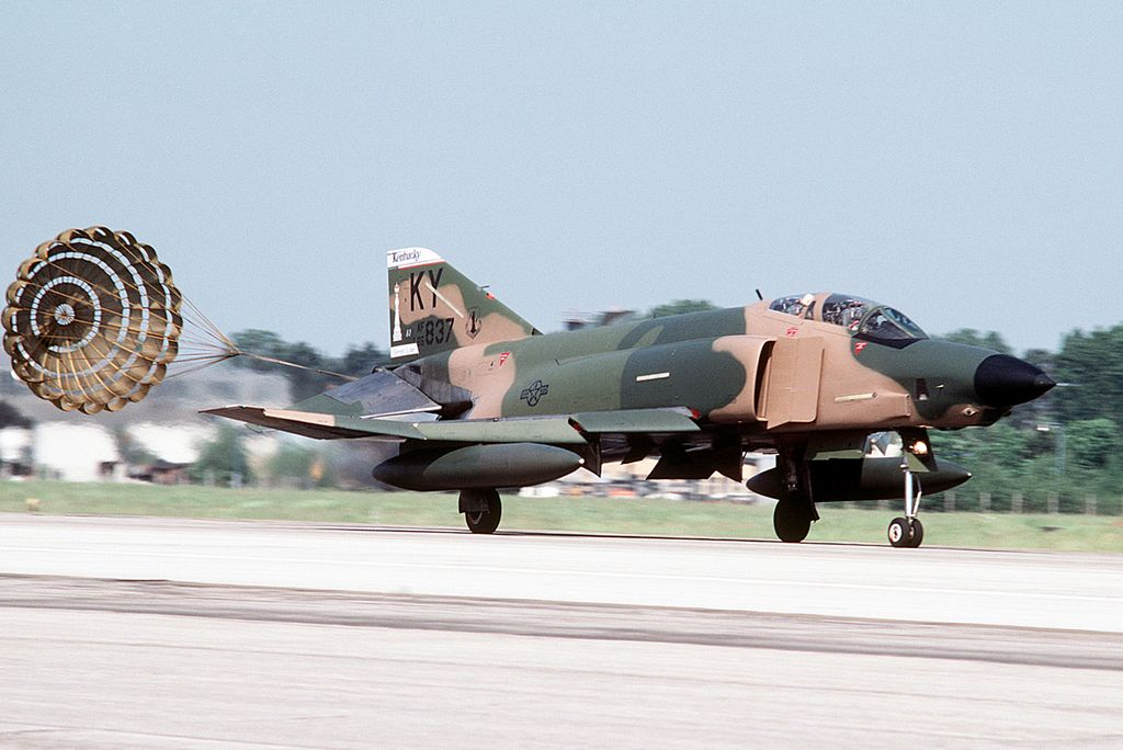 The story of a non-standard RF-4C Phantom Ejection