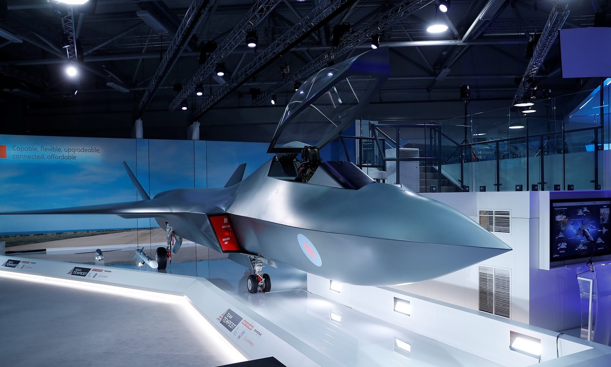 U.K. unveils new Tempest sixth-generation fighter jet to replace Typhoon