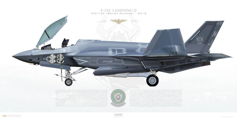 """Mow Em Down!"" The U.S. Navy deactivates VFA-101 Grim Reapers after seven years as F-35C FRS"