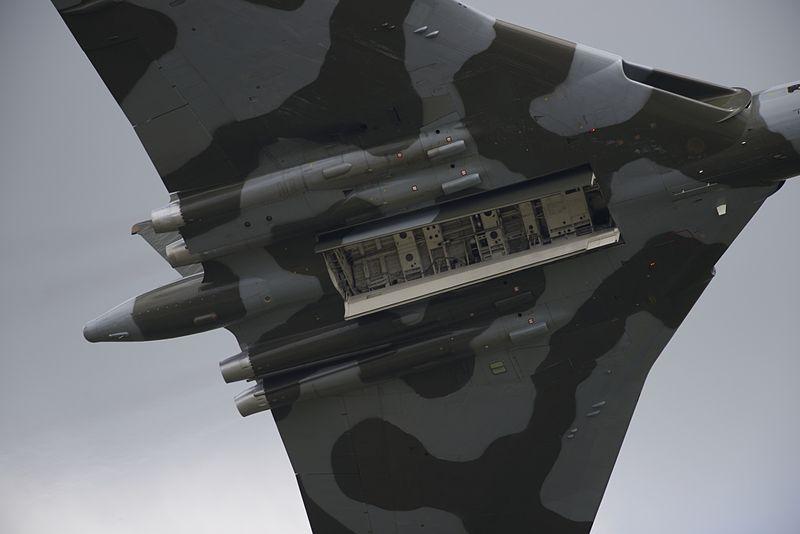 A representative description of an air display routine by Vulcan XH558