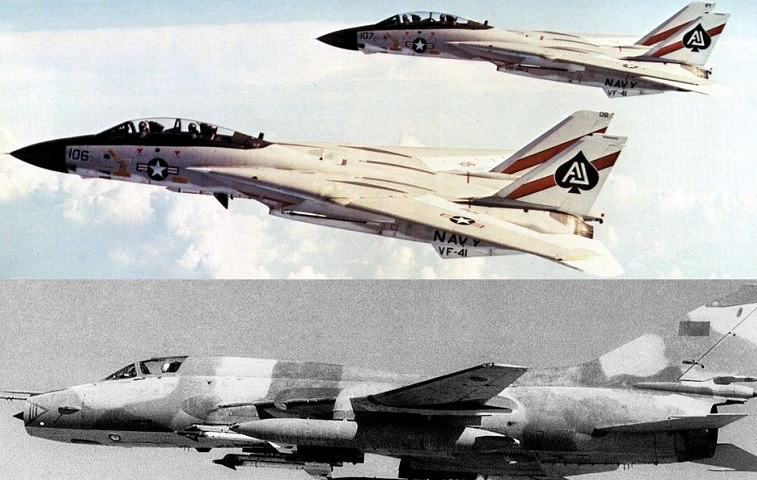Tomcats 2-Fitters 0: how two U.S. Navy F-14s shot down two Qaddafi's Su-22s over the Gulf of Sidra on Aug. 19, 1981