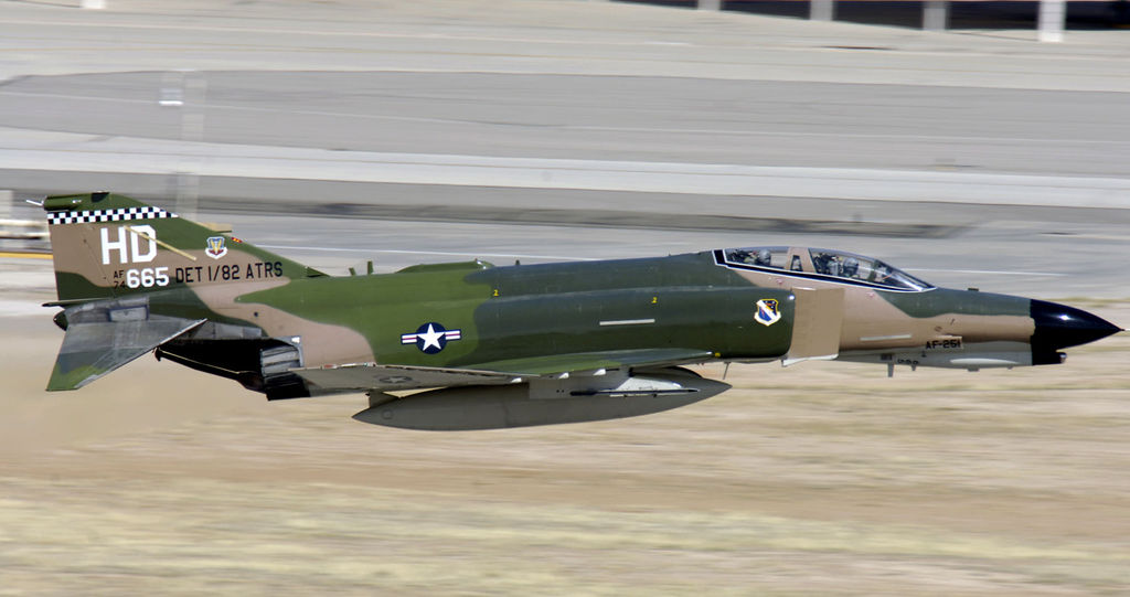 Former F-4 Phantom Driver tells the story of an Exhilarating Mach 2 Test Flight