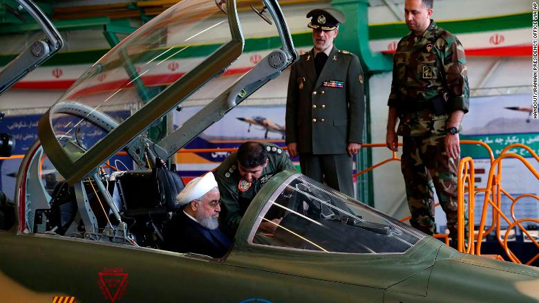 Here's Iran 'new' Kowsar fighter jet. And it's a carbon copy of the American F-5F