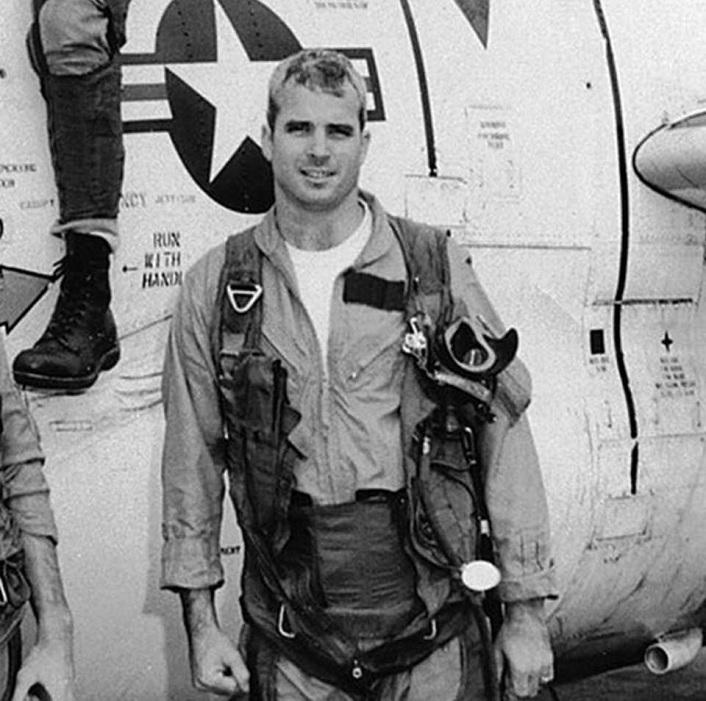 Remembering the Shootdown of Lt  Commander John McCain over